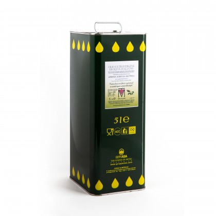 Extra Virgin Olive Oil - 5 lt can