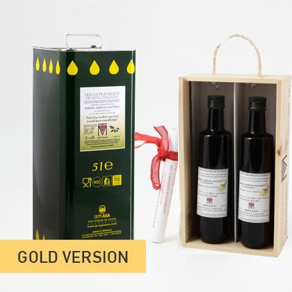 NEW! ADOPT AN OLIVE GROVE GOLD - Year 2018