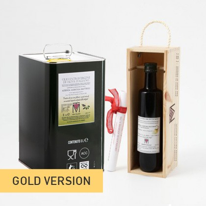 NEW! ADOPT AN OLIVE TREE GOLD - Year 2018